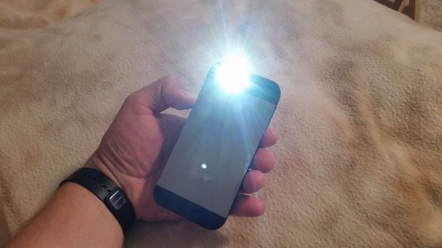 Learn how to use the iPhone flashlight.