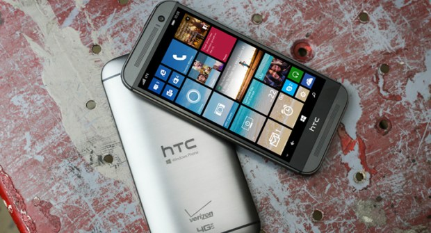 The HTC One M8 for Windows