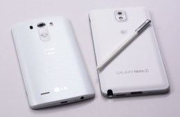 LG G3 vs Galaxy Note 3 - 4
