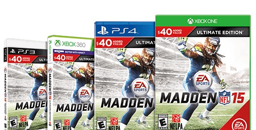 If you love Ultimate Team, head to a store there is no digital Madden 15 Ultimate edition.