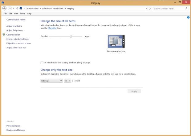 how to change monitor settings windows 10