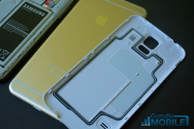 iPhone 6 vs Galaxy S5 - Design 2