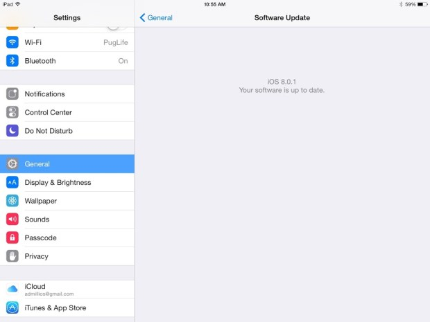 iOS 8.0.1 was released for iPhone and iPad today.