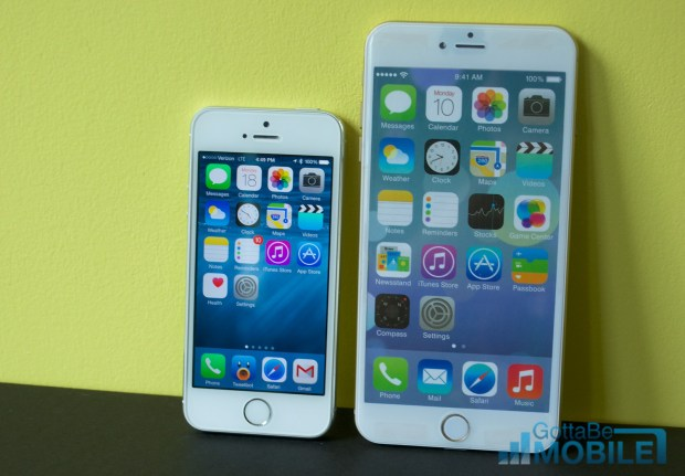 Expect a special iOS 8 feature on the 5.5-inch iPhone 6.