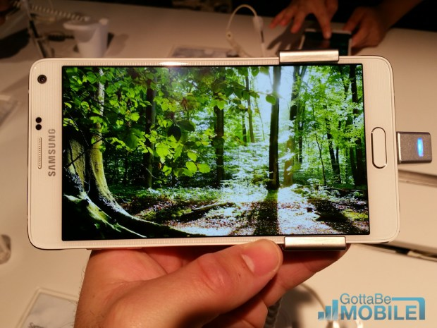 Galaxy Note 4 Features - Quad HD Display