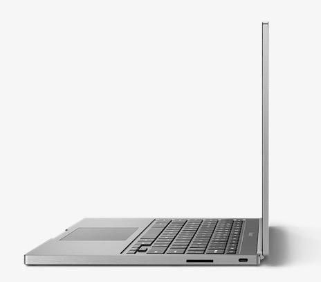 Chromebook Pixel Side