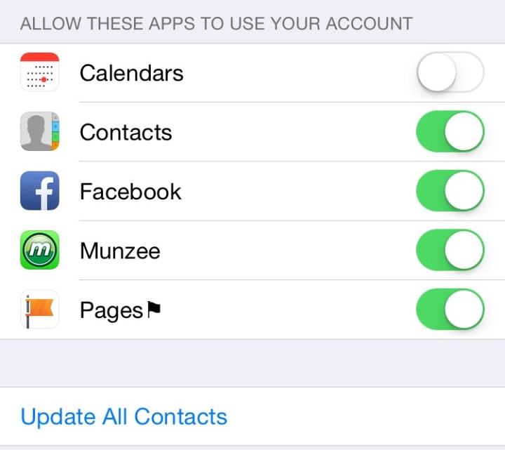 Sync your contacts with Facebook.