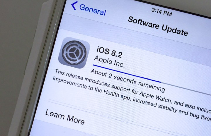 Learn what's new in iOS 8.2.