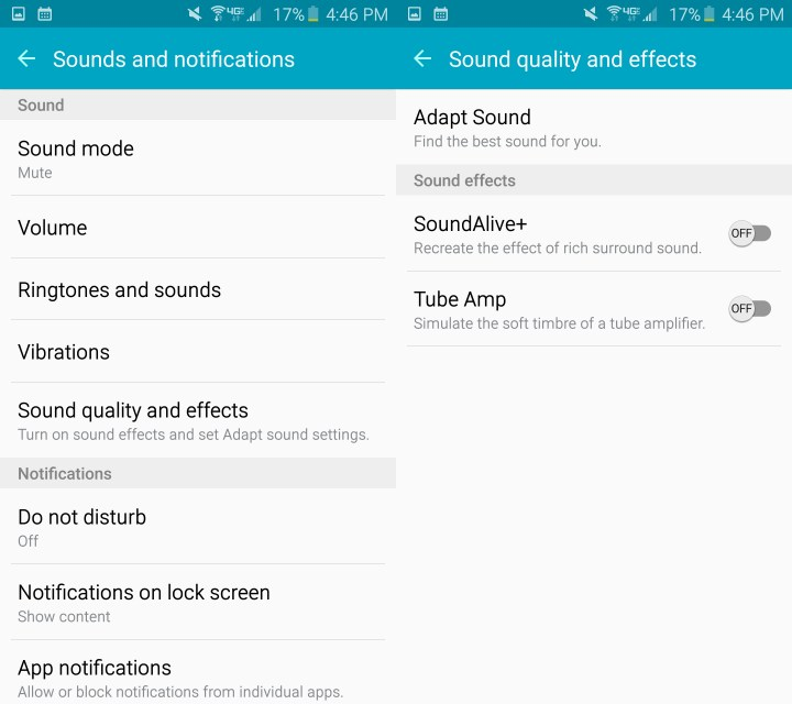 Here's how to customize the Galaxy S6 sound.