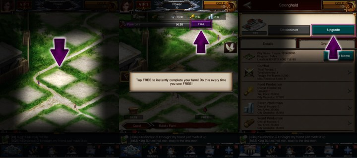 Use these Game of War tips and tricks to get ahead faster.