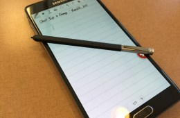 s note and s pen galxy note 4.
