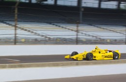 The Indy 500 start time is noon on Sunday.