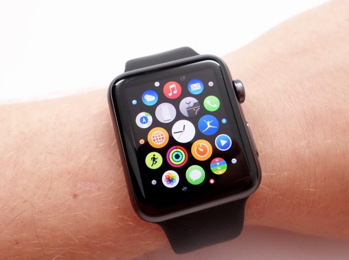 Apple Watch Apps are not up to iPhone level.