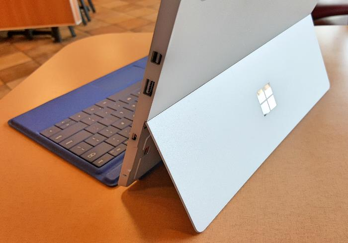 Microsoft Surface 3 Kickstand and Logo