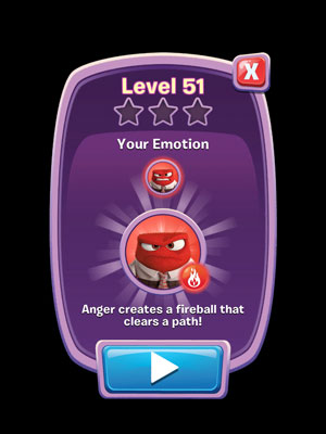 Inside Out Thought Bubbles Anger Power Up