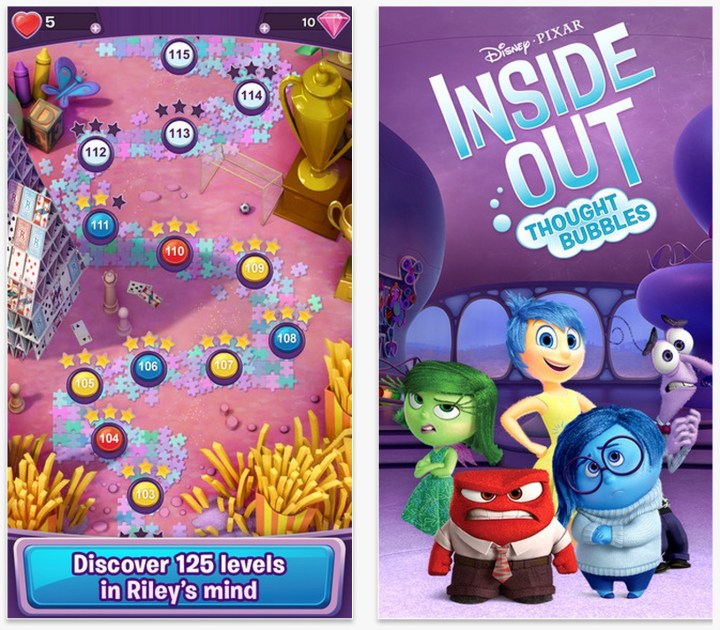 What you need to know about the Inside Out Thought Bubbles game.