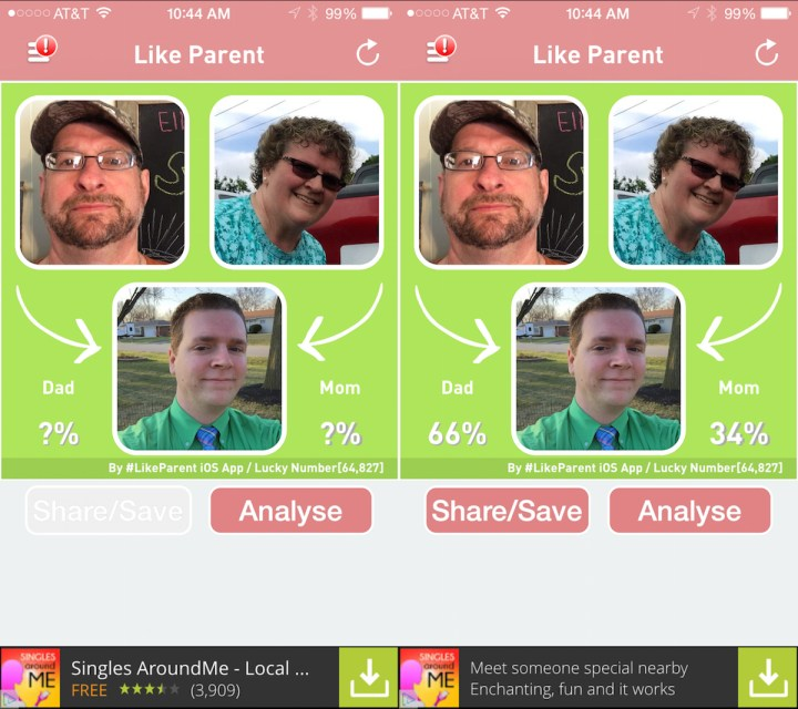 The Like Parent app is popular, even with a low rating.
