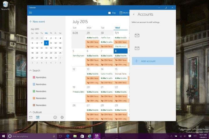 How to Add Calendars in Windows 10 (9)