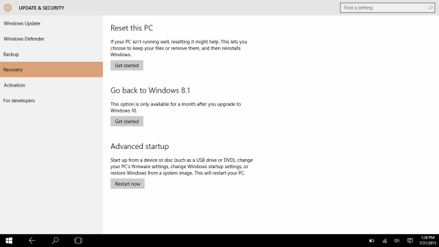 How to go back to windows 7 from Windows 10 (8)