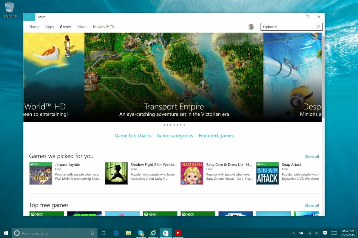 how to delete windows store games