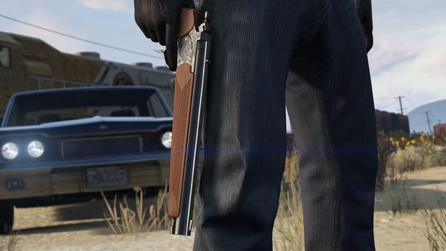The Marksman Pistol coming in the Ill-Gotten Gains Part 2 Update.