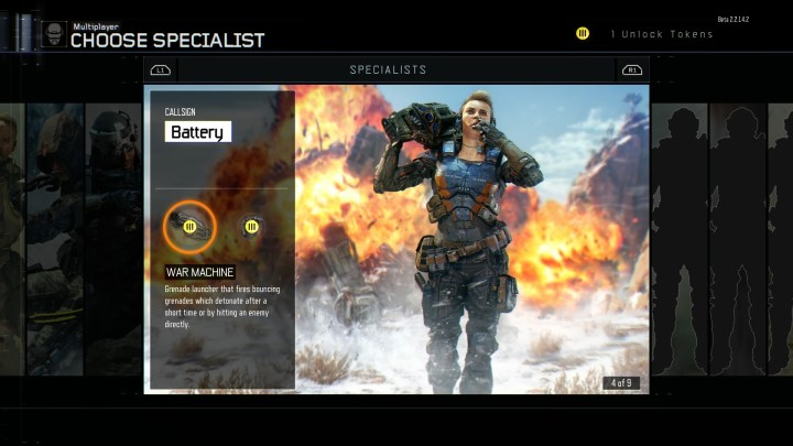 Black Ops 3 Specialists