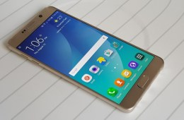 This is the Gold Galaxy Note 5