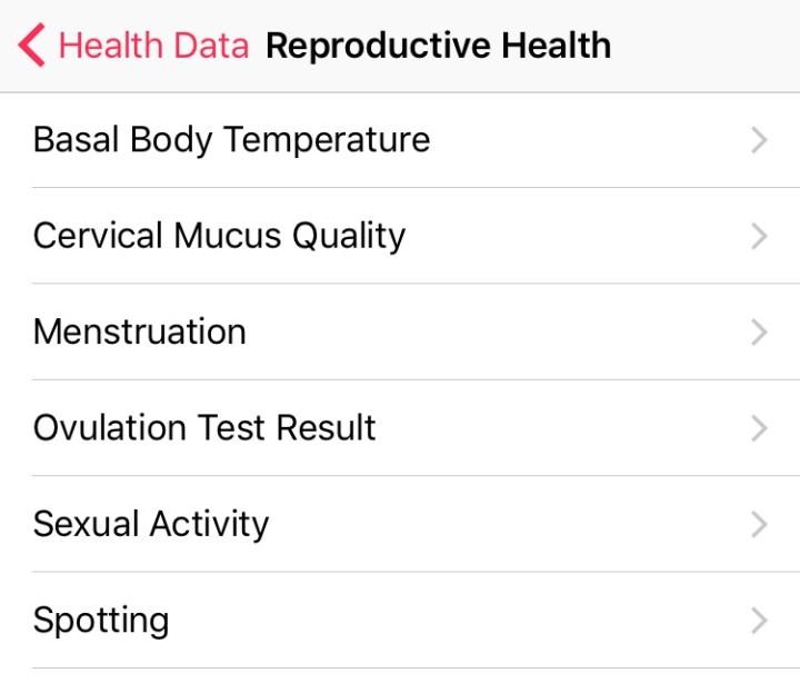 iOS 9 tips Sexual Health Reproductive Health