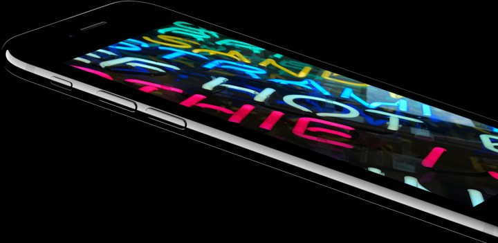 Jet Black and Black iPhone 7 colors offer a black front bezel that looks great for watching content.