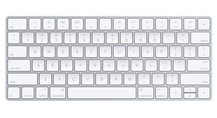 This is the new Magic Keyboard from Apple.