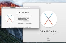 Upgrade from the OS X El Capitan beta to the final OS X El Capitan release.