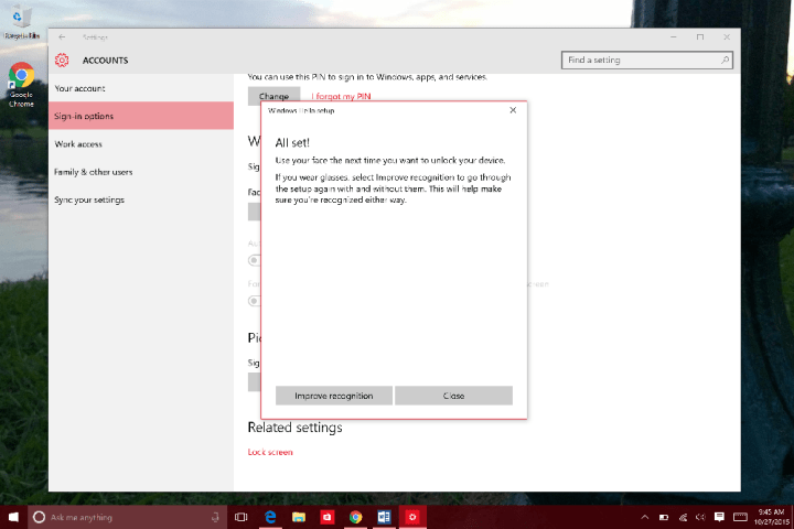 How to Use Windows Hello in WIndows 10 (10)