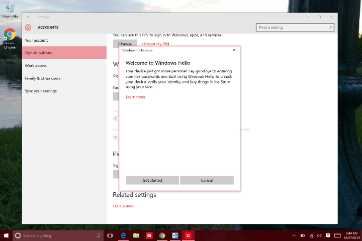How to Use Windows Hello in WIndows 10 (7)