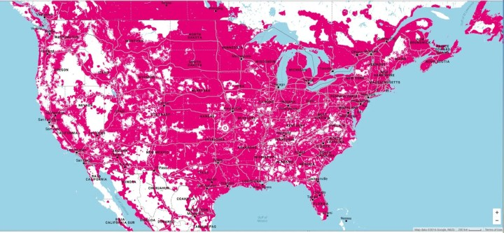 t-mobile updated coverage map