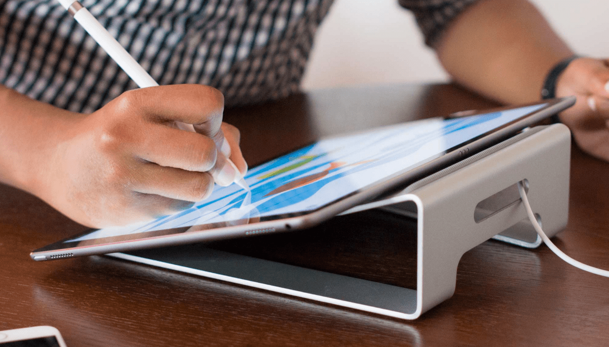 twelvesouth parcslope stand for ipad pro