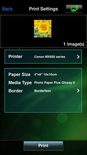 Canon-iOS-Printer-app