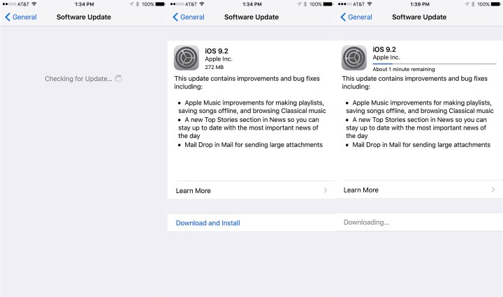How to Install iOS 9.2 - 2