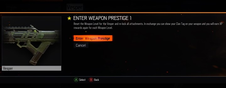 How to enter Weapons Prestige in Black Ops 3.