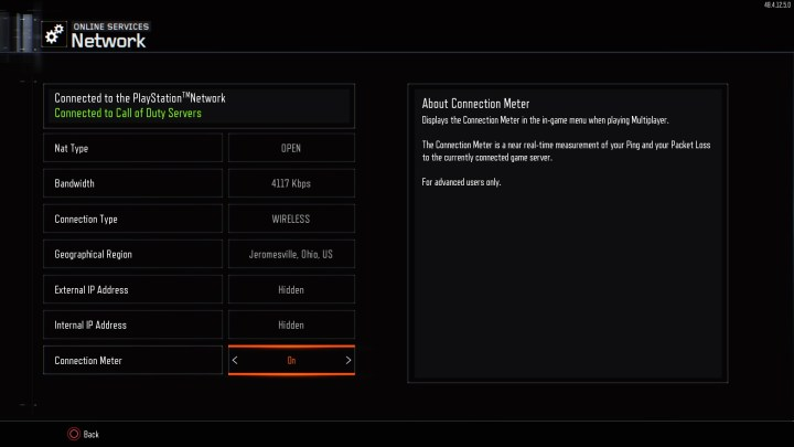This can help you identify the cause of Black Ops 3 lag, if your network has issues.
