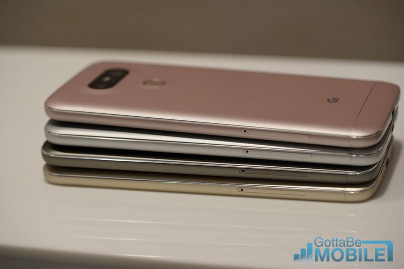 LG G5 vs. LG G4