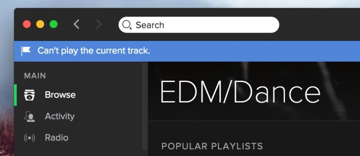 How to fix Spotify streaming problems and errors.