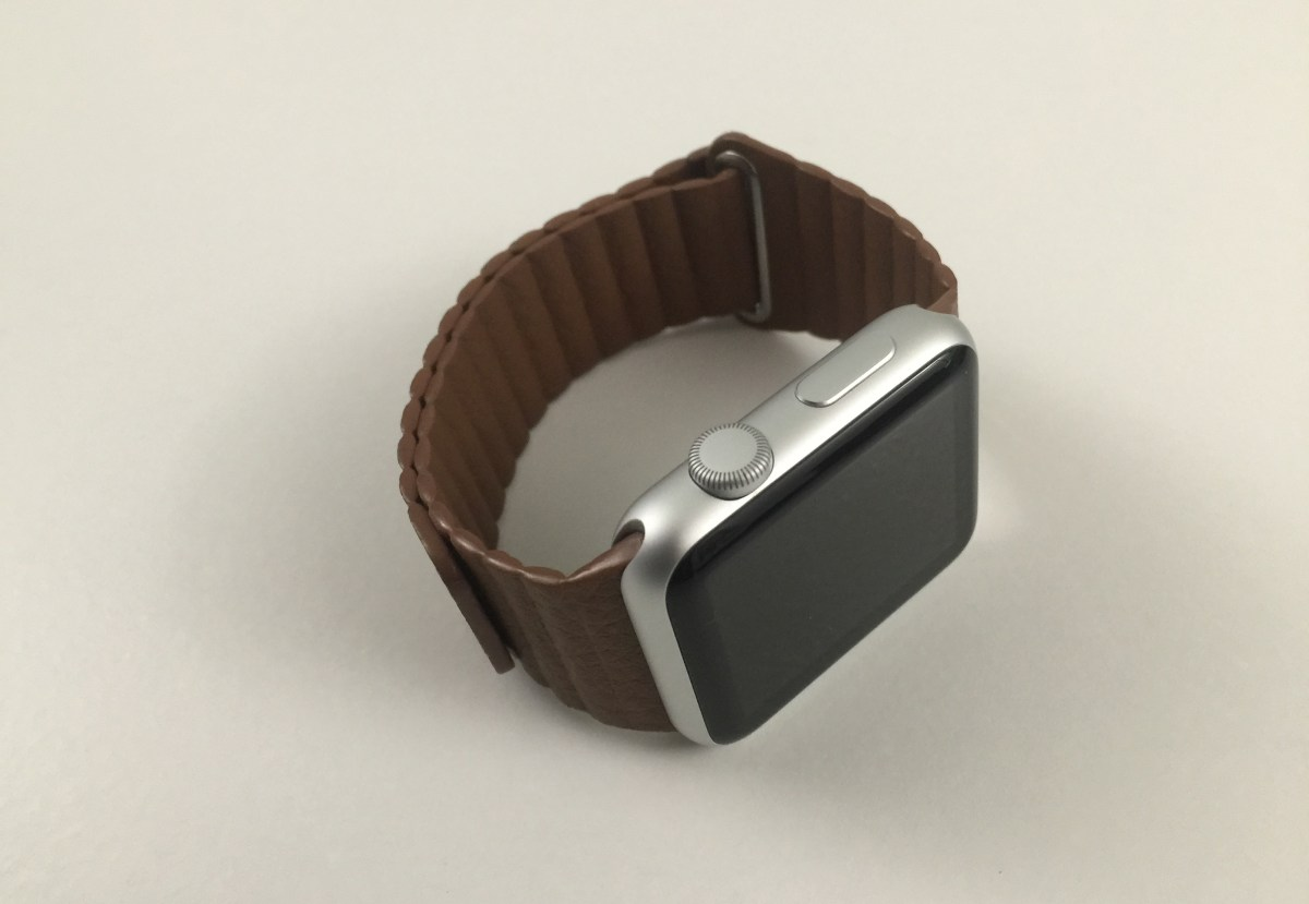 Third-Party Apple Watch Leather Loop Review