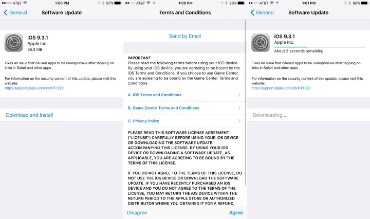 How to Install iOS 9.3.1