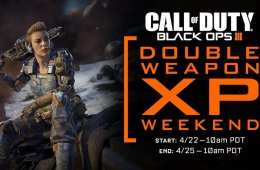 What you need to know about the April Black Ops 3 Double Weapons XP event.