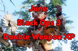 What you need to know about the June Black Ops 3 Double Weapon XP event.