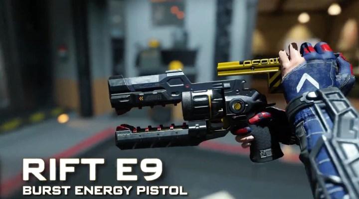 Rift E9 Pistol