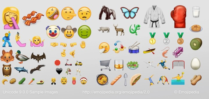 Here are the new emojis. See what the 2016 emojis look like before they arrive on iPhone and Android.