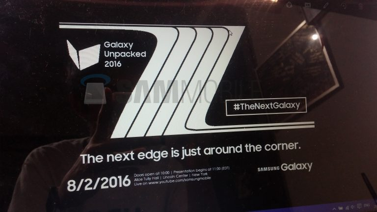 Evan Blass confirms the name of the upcoming Samsung Galaxy Note 7
