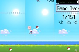 The Catch ém app is a Flappy Bird like Pokémon iPhone app.