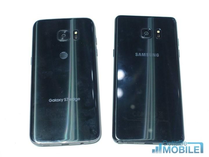 Galaxy S7 Edge vs Note 7: Design